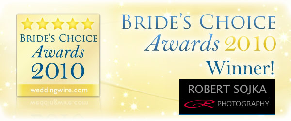 2010 Brides Choice Award for Chicago Wedding Photography